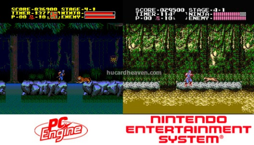 I didn't know that was a tiger on the NES!